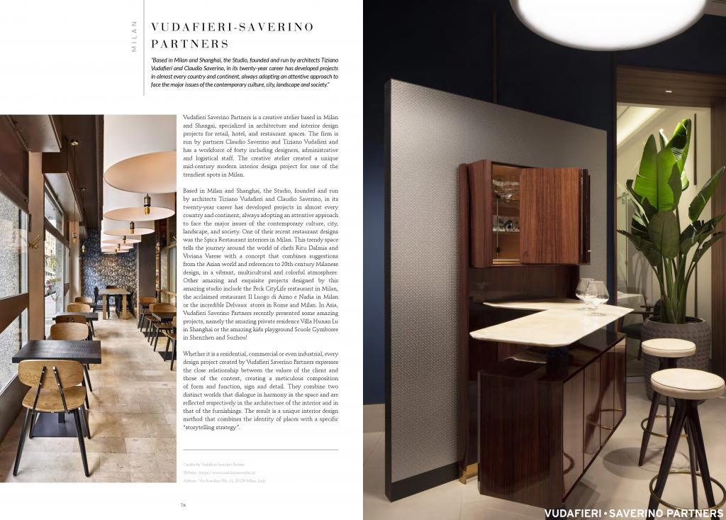 Coveted Magazine Vudafieri Saverino Partners